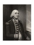 Admiral Richard Howe, Engraved by W.T. Fry, from 'National Portrait Gallery, Volume III',… Giclee Print by Gainsborough Dupont