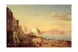 Naples, C.1830 Giclee Print by Carl Wilhelm Goetzloff