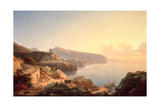 The Gulf of Sorrento, Near Vico, C.1855 Giclee Print by Carl Wilhelm Goetzloff