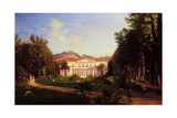 Villa Pignatella, Riviera Di Chiaia, Naples, C.1845 Giclee Print by Carl Wilhelm Goetzloff