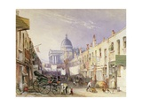 London University from Old Gower Muse, 1835 Giclee Print by George Sidney Shepherd