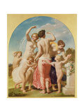 The Three Graces, 1856 Giclee Print by William Edward Frost