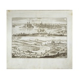 The Siege of Wolgast in 1630, from 'Theatrum Europaeum', Vol. II, C.1646 Giclee Print by Matthaus, The Elder Merian