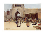 The North Gate, Baghdad Giclee Print by Arthur Melville