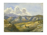 Mount Carmel, 1872 Giclee Print by Claude Conder