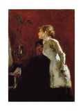 The Piano Lesson Giclee Print by Jean Louis Forain