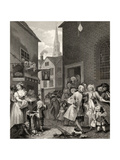 Times of the Day: Noon, from 'The Works of William Hogarth', Published 1833 Giclee Print by William Hogarth