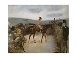 At the Races Giclee Print by Jean Louis Forain