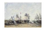 Portrieux, C.1873 Giclee Print by Eugène Boudin