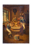 A Recruiting Party, 1805 Giclee Print by A.E. Eglington