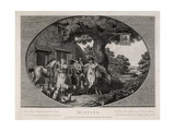 Hunting, Engraved by Robert Pollard (1755-1838), 1784 Giclee Print by James Pollard