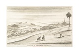 Prospect of Old Sarum from the West, 1723 Giclee Print by William Stukeley
