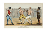 Prize Fight Giclee Print by Henry Thomas Alken
