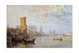 Cologne on the Rhine Giclee Print by J. M. W. Turner