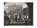 The Gate of Calais, or O the Roast Beef of Old England, from 'The Works of William Hogarth',… Giclee Print by William Hogarth
