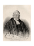 Reverend Rowland Hill, Engraved by S. Freeman, from 'The National Portrait Gallery, Volume Iv',… Giclee Print by William Derby