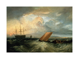 Sheerness as Seen from the Nore Giclee Print by Joseph Mallord William Turner