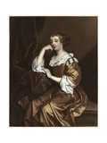 Portrait of Elizabeth Wriothesley, C.1668 Giclee Print by Sir Peter Lely