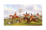 Hunting Scene Giclee Print by Henry Thomas Alken