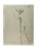 Male Nude Standing Giclee Print by Sir William Orpen