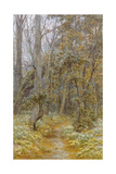 In the Garden Giclee Print by Helen Allingham