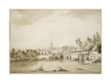 Arnon Bridge, 1775 Giclee Print by Hendrik Frans De Cort