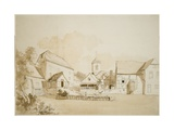 Fisherton (Bishops's Mill) Salisbury, 1795 Giclee Print by Hendrik Frans De Cort