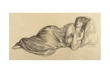 Jane Morris, 1870 Giclee Print by Dante Charles Gabriel Rossetti