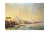 An Extensive View over Constantinople and the Golden Horn, 1840 Giclee Print by Jean Antoine Theodore Gudin