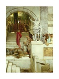 After the Audience, 1879 Giclee Print by Sir Lawrence Alma-Tadema