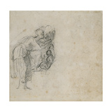 Study of a Group of Figures, C.1511 Giclee Print by  Michelangelo Buonarroti