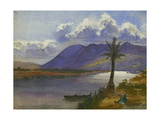 River Kishon and Carmel Giclee Print by Claude Conder
