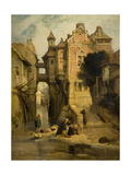 Rouen, 1815-28 Giclee Print by Richard Parkes Bonington