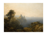 Black Castle, Wicklow, 1854 Giclee Print by Edmund John Niemann