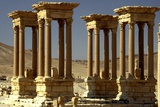 The Tetrapylon on the Colonnaded Central Street Photographic Print