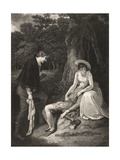 The Forest, Act II, Scene Vii, from 'As You Like It', from the Boydell Shakespeare Gallery,… Giclee Print by Robert Smirke