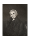 Samuel Drew, Engraved by R. Hicks, from 'The National Portrait Galler, Volume Iv', Published C.1820 Giclee Print by Joseph Moore