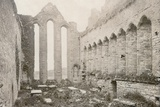 Ardfert Cathedral, Photographed by Robert French for the William Lawrence Photographic Studio,… Photographic Print by Robert French
