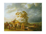 The Four Hours of the Day: Vespers, 1771 Giclee Print by Louis Joseph Watteau