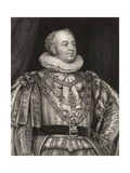 Prince Frederick, Duke of York and Albany, Engraved by J. Jenkins, from 'National Portrait… Giclee Print by Thomas Phillips