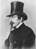 Portrait of Emperor Napoleon III Fotografisk trykk av  Nadar