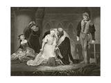 The Execution of Lady Jane Grey, 12 February 1554, from 'The National and Domestic History of… Giclee Print by Hippolyte Delaroche