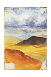 Desert Landscape Giclee Print by Claude Conder