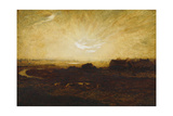 Landscape at Sunset Giclee Print by Marie Auguste Emile Rene Menard