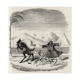 Legend of St. Medard, from 'The Ingoldsby Legends' by Thomas Ingoldsby, Published by Richard… Giclee Print by George Cruikshank
