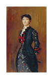 Portrait of Louise Jopling, 1879 Giclee Print by John Everett Millais