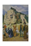 Les Buttes Chaumont Giclee Print by Louis Malteste