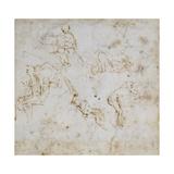 Figure Study, C.1511 Giclee Print by  Michelangelo Buonarroti