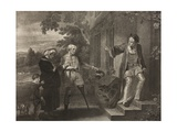 The Seven Ages of Man, Sixth Age, Act II, Scene Vii, from 'As You Like It', from the Boydell… Giclee Print by Robert Smirke