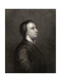 Mark Akenside, Engraved by R.Woodman, from 'The National Portrait Gallery Volume Iv', Published… Giclee Print by Arthur Pond